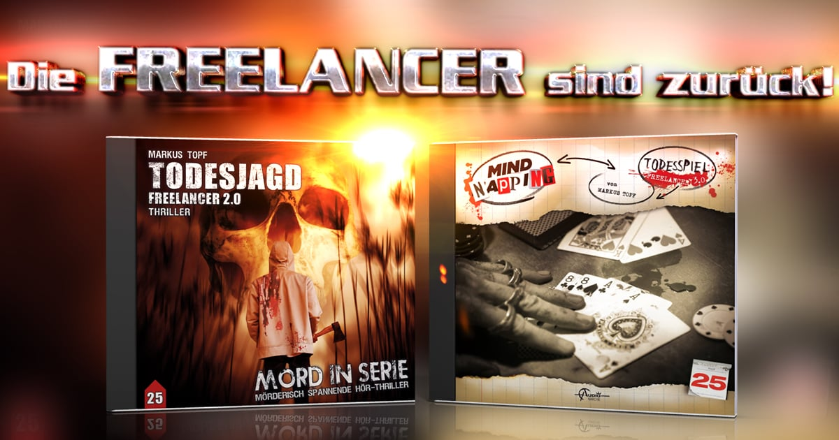 """Freelancer-Doppelpack bei """"Mord in Serie"""" und """"MindNapping"""""""
